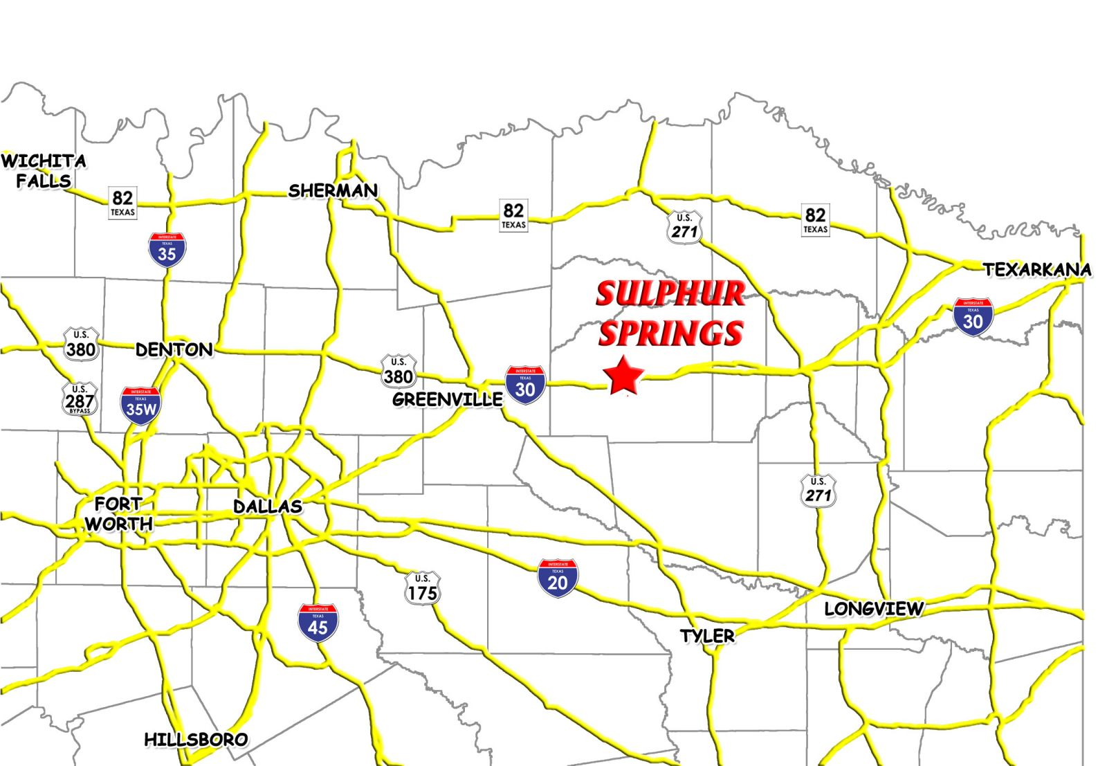 City Of Sulphur Springs Tx